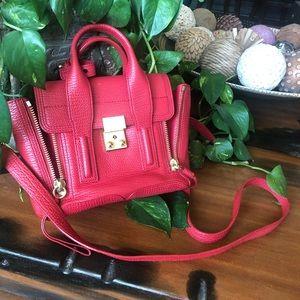 PHILLIP LIM 3.1 Pashli Satchel Mini RED Preloved